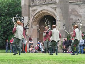 Abbots Bromley Horn Dance 2012 at Blithfield Hall