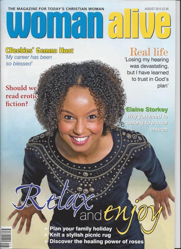 Interview with Gemma Hunt from CBeebies (WomanAlive)