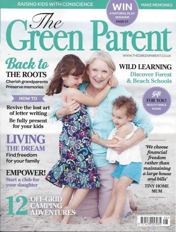 Interview with Rachel Macy Stafford, author of Hands Free Mama (The GreenParent)