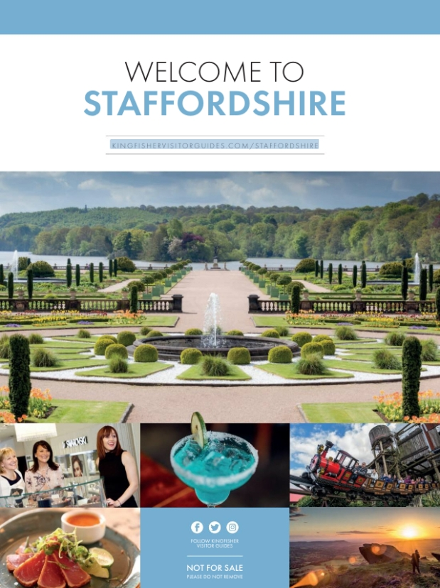 Welcome to Staffordshire guide (Kingfisher Visitor Guides)